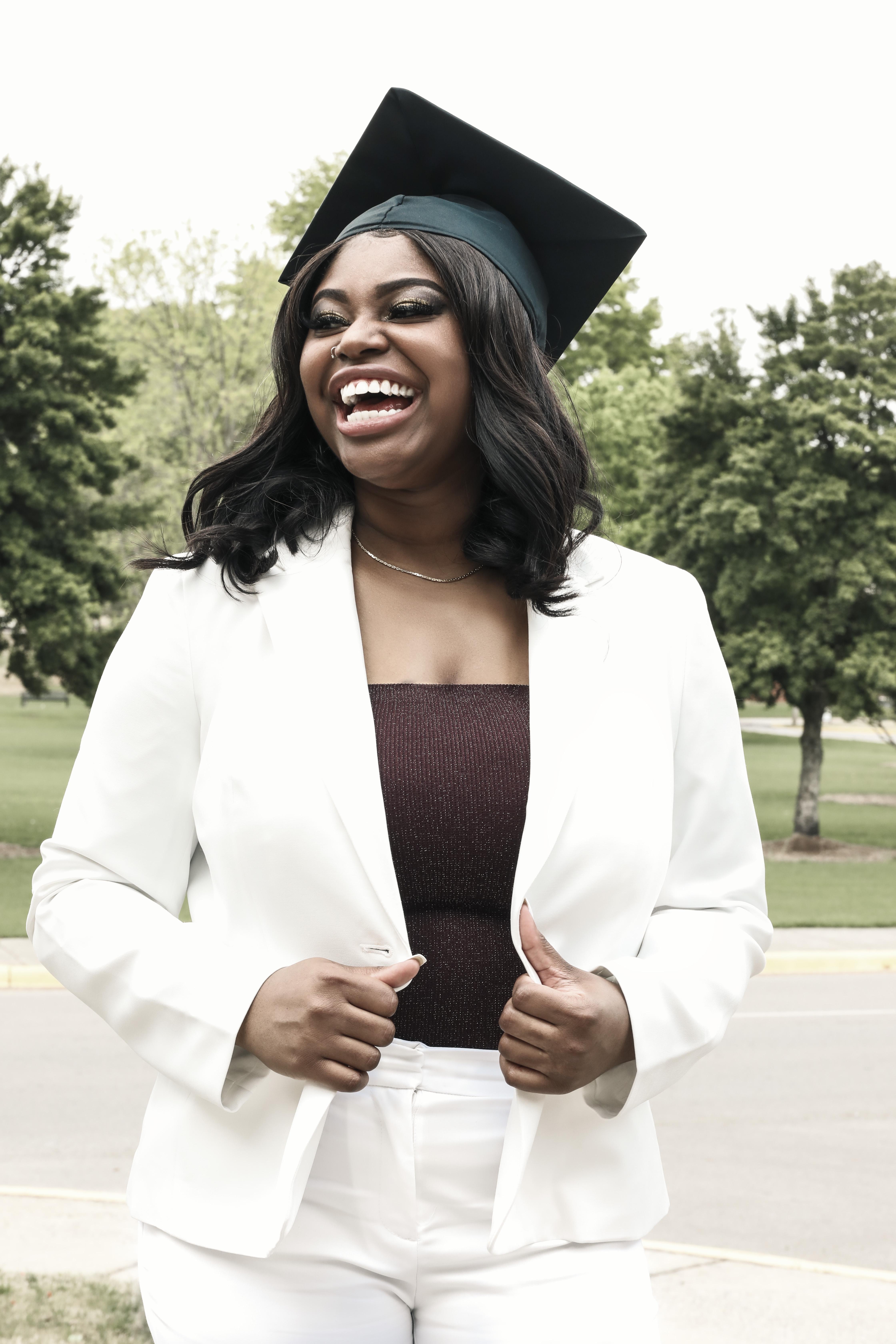 Graduation photo by Wesley Pellot